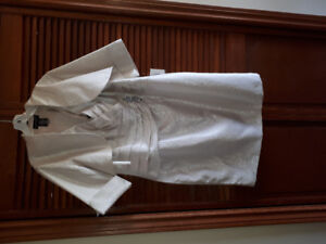Mother of the bride dress..made by Cachet..Cream colour size 18
