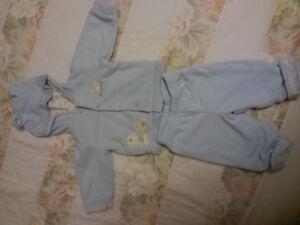 2 piece lined suit size 6-9 months