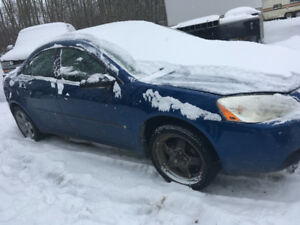 2007 Pontiac G6 for Part out or Whole