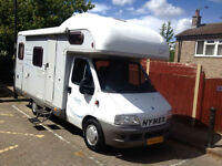 Hymer Camp C524, 2003, Sleeps 5, Single Fixed Bed in Rear, 2800cc, Recommended.