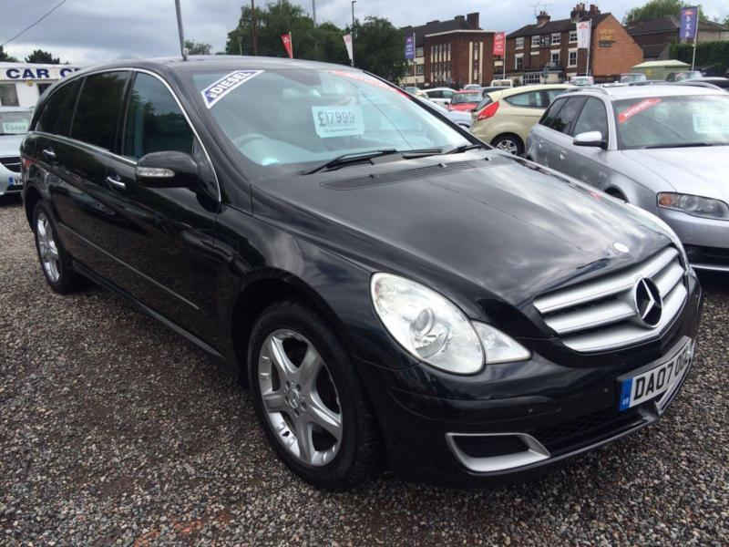 2007 MERCEDES BENZ R CLASS R320L CDI Sport AUTO FULL CREAM INTERIOR 6 SEATER