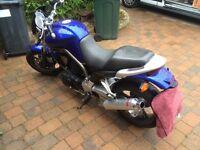 Motorcycle Yamaha BT 1100