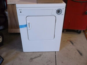 Whirlpool heavy duty compact dryer