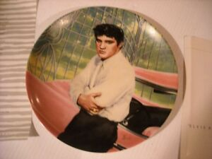 "Elvis 8"" Plate by Delphi - Elvis At The Gates of Graceland Peterborough Peterborough Area image 1"