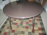 Beautiful Chocolate Brown dining Room Table