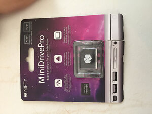 New in package - Nifty drive mini drive for Mac book pro