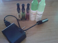 Chargeur E-cigarette (Ego) + 2 Recharges + 3 embouts