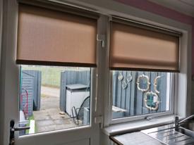 Roller blinds for upvc door and window