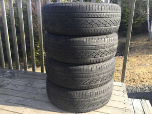 Four Hercules 195/65R15 Summer Tires