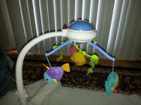 Ocean wonder fisher price mobile in new condition
