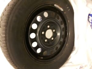 Uniroyal M+S -5 bolt pattern winters on rim