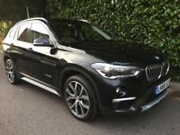 BMW X1 XDRIVE25D XLINE 2016 Diesel Automatic in Black