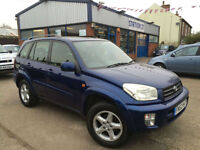Toyota RAV 4 VX 2003 4X4 FULL SERVICE HISTORY JUST BEEN SERVICED&VALETED