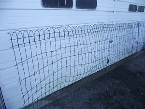 Antique Braided Wire Fencing