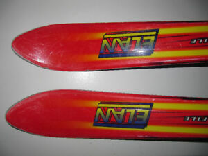 elan skiis in decent condition