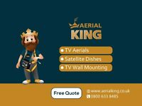 TV Aerial Installations and Repair, Satellite Services and TV Wall Mounting - Best Price Guaranteed