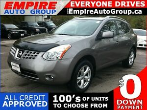2009 NISSAN ROGUE SL * AWD * LEATHER * SUNROOF