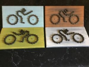 BICYCLE GIFT CYCLING BICYCLE PARTS BICYCLE CHAIN UNIQUE GIFT