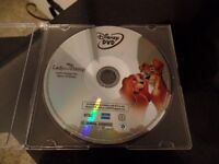 WALT DISNEY LADY AND THE TRAMP DVD ~ NEW ~ $5.00