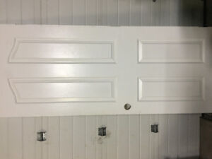 Colonial door 4 panel with arch