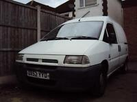 Fiat Scudo JTD EL SWB – Panel Van – Diesel – Clearance Price - £599