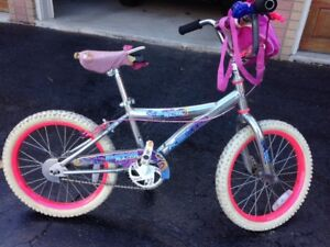 Girls bike- ideal for ages 5-8