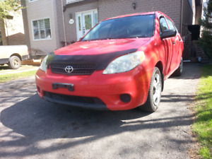 Toyota Matrix 2006 - 2300$ prix NEGOCIABLE