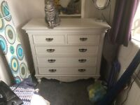 Barker and Stonehouse Romance 5 Drawer Chest
