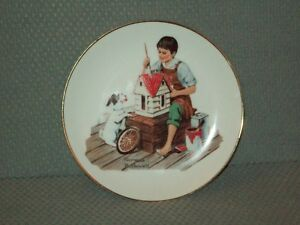 N. Rockwell, Dollhouse for Sis plate