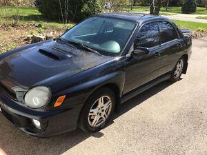 2002 Subaru WRX WRX Sedan