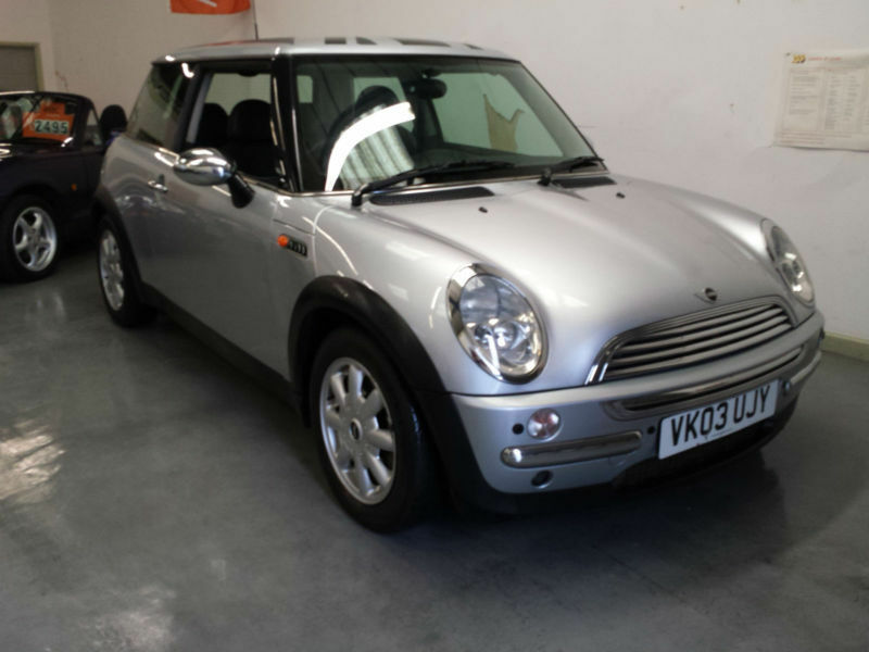 2003 Mini Cooper Part Exchange Clearance