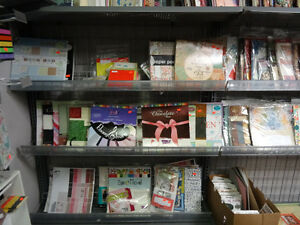 Large Scrapbooking paper books