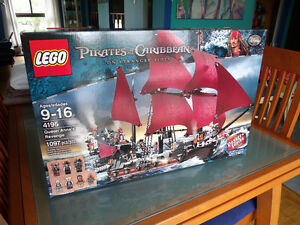 LEGO 4195 Pirates of the Carribean Queen Anne's Revenge NEW/NEUF