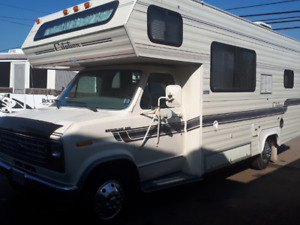 For Sale: $9500.00 1988 24 ft Ford Econoline F350 Motorhome