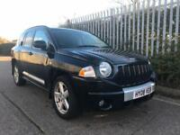 2008 08 Jeep Compass 2.0 CRD Limited edition Black-Black Leather 6 Spd