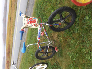 Wanted old 80s BMX bikes