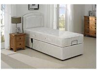 Brand New Electric Single Bed, Pocket Sprung Mattress & Headboard