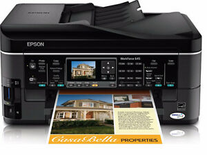 NEW-Epson WorkForce 645 Inkjet Multifunction With Fax