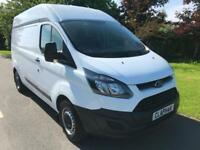 2015 65 FORD TRANSIT CUSTOM 2.2TDCI 100BHP 290 L1 H2 ANY UK DELIVERY