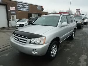 TOYOTA HIGHLANDER 2001 4*4 AUTOMATIQUE