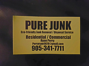 Junk Removal (fully liciensed and insured)