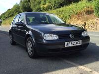 Volkswagen Golf 1.6 2002MY S