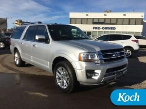 2016 Ford Expedition Max Limited   -  Bluetooth - Low Mileage