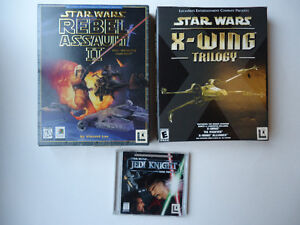 Star Wars PC Games - X-wing Trilogy, Rebel Assault 2, and more