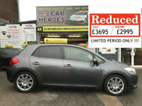 2008 TOYOTA AURIS 2.0 D-4D SR 126 BHP (AA) BREAKDOWN & WARRANTY PACKAGE INCLUDED