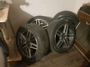 "16"" 4x108 DAI Evo Wheels with 195/50/r16! Perfect condition whee"