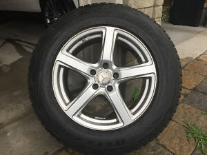 4 Pneux d'hiver avec jantes ,Tires with Mags for Mercedes ML350
