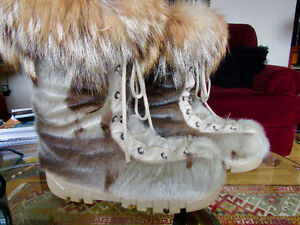 Seal and Coyote Boots Bought at the Natural Boutique