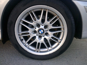 Bmw OEM Style 65 M Wheels/rims with tires 17 inch m package