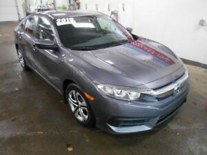 2016 HONDA CIVIC LX FWD MANUAL TRANSMISSION BACKUP CAMERA